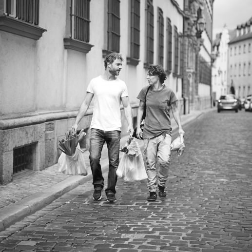 SAN BUCA: Caro Baum & ManuelVanin vom Markt